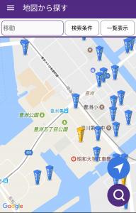 マンションサーチ 地図で検索