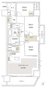 画像出典:ジオ新宿若松町公式HP